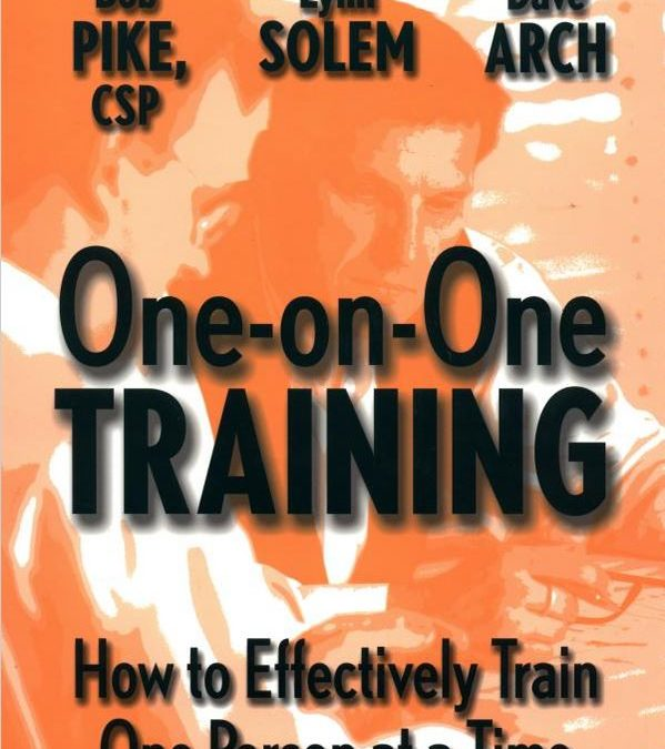 One-on-One Training: How to Effectively Train One Person at a Time