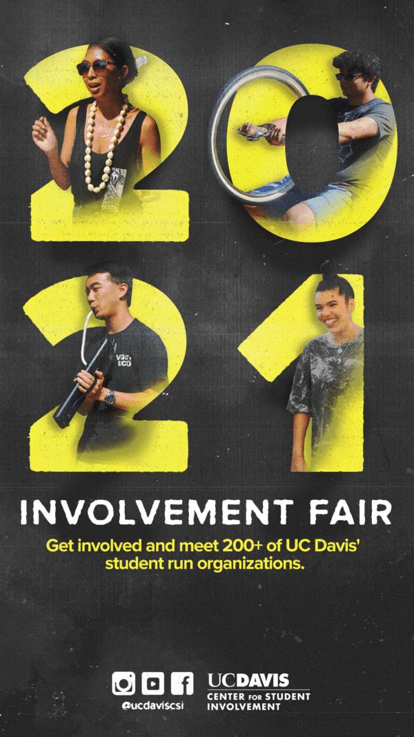 flyer for involvement fair